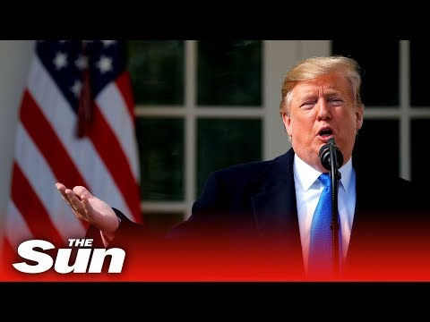 Trump's national emergency speech (Full)
