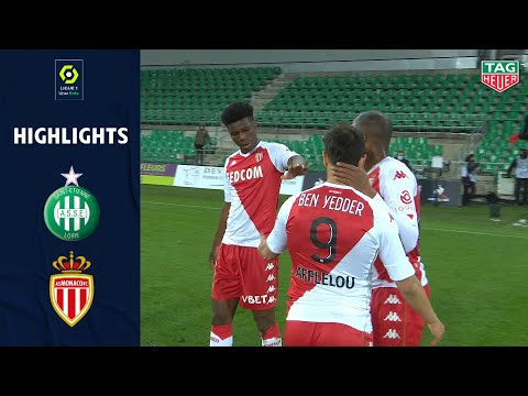 St. Etienne Monaco Goals And Highlights