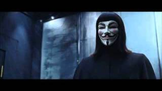 the ghost of christmas past V for Vendetta