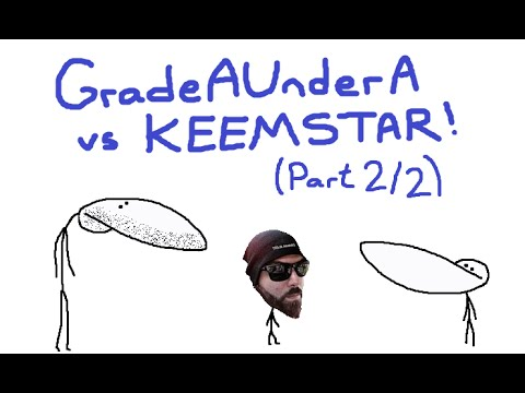 GradeAUnderA vs Keemstar (Part 2) How To REALLY Piss Keem Off