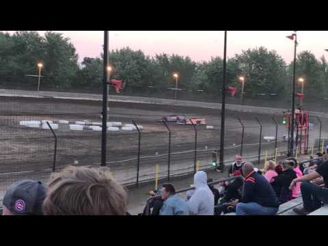 Super latemodel heat race # 1 at sycamore speedway