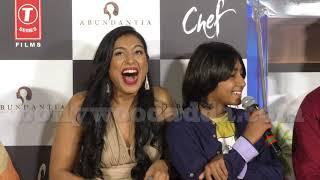 CHEF Official Trailer Launch  Saif Ali Khan, Padmapriya, Svar Kamble  Raja Krishna Menon 7