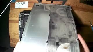 Macbook Pro A1286 Чистка от пыли и замена термопасты.
