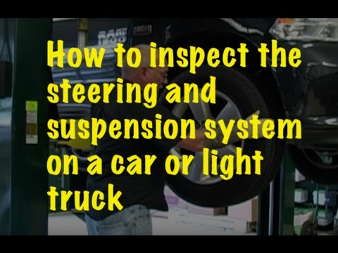 The Trainer #46: How to inspect the steering and suspension system