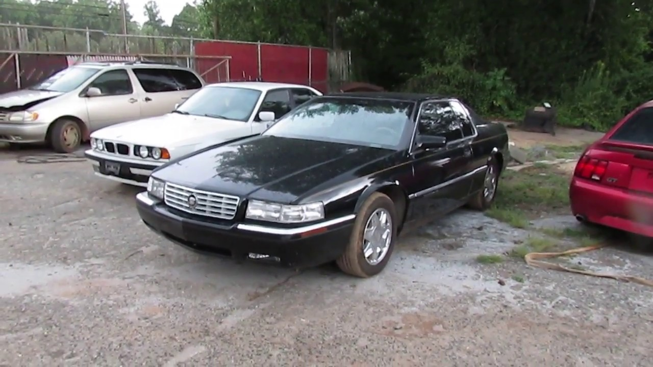 scrapped 1998 cadillac eldorado yes another one. Black Bedroom Furniture Sets. Home Design Ideas