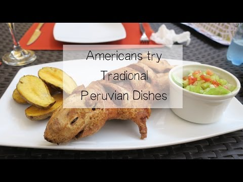 Peruvian Food and Drinks in Arequipa
