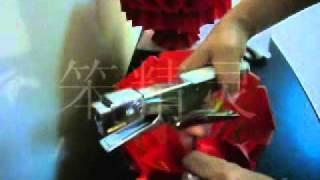 Repeat youtube video Red packet  Lantern DIY   红包制作大红灯笼