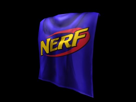 Roblox How To Get Nerf Cape Halloween Youtube - roblox t shirt nerf
