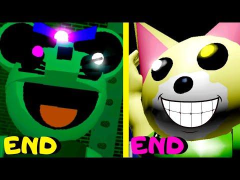 Roblox - All 6 Endings - Piggy Games!