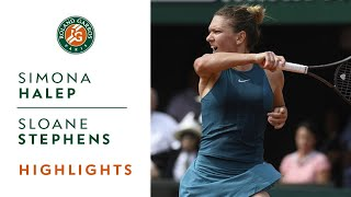 Simona Halep vs Sloane Stephens - Final Highlights I Roland-Garros 2018