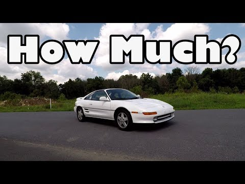 How Much Does A Toyota MR2 Turbo Cost?