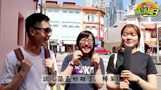 爆笑街访!外国人眼中的新加坡到底是什么样的?