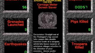 Duke Nukem 3D Screen Saver and Entertainment Pack - Demonstration