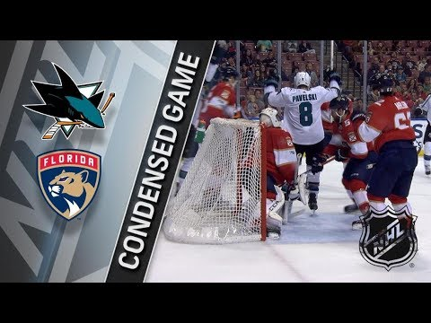 San Jose Sharks vs Florida Panthers – Dec. 01, 2017 | Game Highlights | NHL 2017/18. Обзор матча