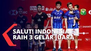 Final Indonesia Masters 2020, Indonesia Raih 3 Gelar Juara