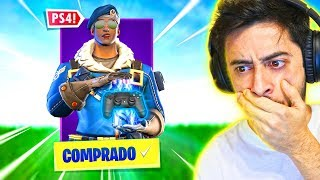 I GOT THE ULTRA RARE PS4 SKIN! -Fortnite, the