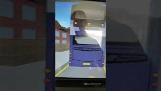 Roblox Volvo b9 Wright eclipse Gemini on a route 11 cheetham hill via forest health