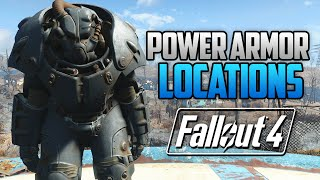 fallout 4 all full power armor locations t45 t51 raider t60 x 01 fo4 power armor locations