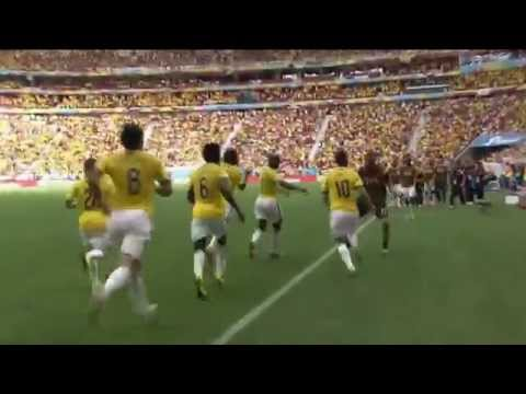 FIFA World Cup 2014 - Colombia 2-1 Ivory Coast [All goals]