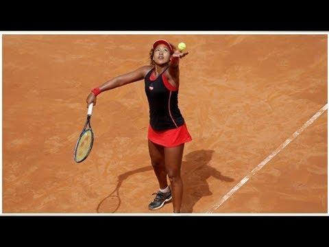 Naomi Osaka surpassed Victoria Azarenka in Rome when Roberta Vinci called time into her career