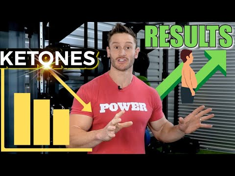 LOWER Ketones = MORE Weight Loss (More Fat Being Used)