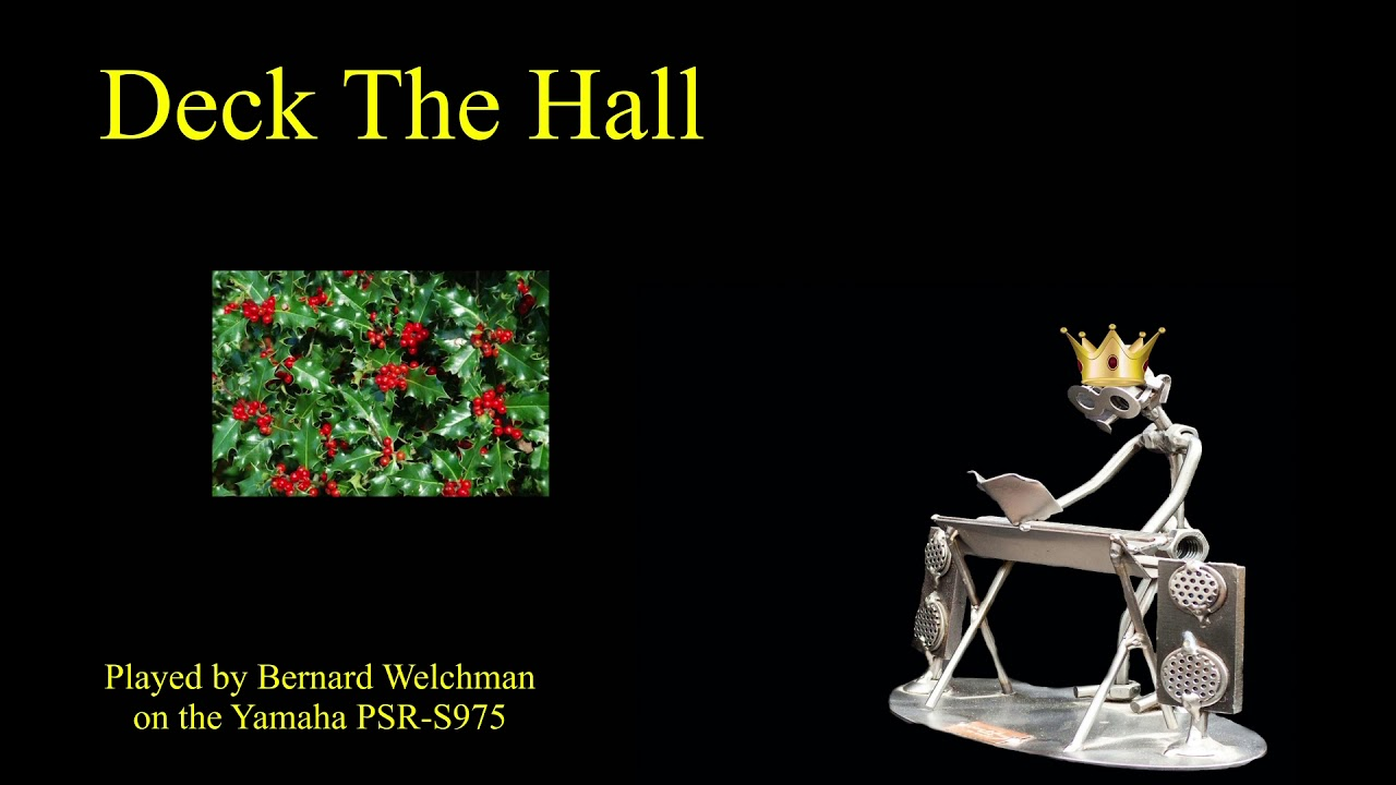 Deck The Hall / We Wish You A Merry Christmas - YouTube