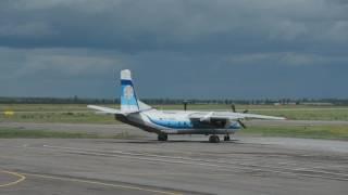 Ан-26. Запуск и вылет из аэропорта Липецк