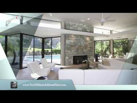 Mid-Century Modern House: Real Estate Video Business Card