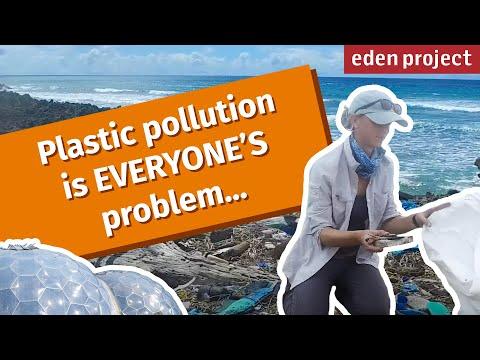 Tackling ocean plastic in the Seychelles - Eden Project