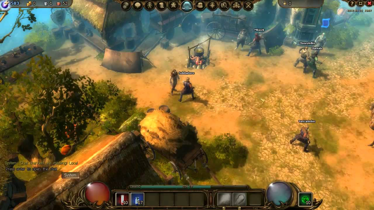 Drakensang Online - The Fun New Browser-Based MMO (Beta) By Bigpoint Games