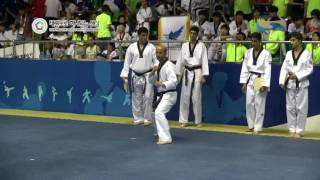 Kukkiwon Taekwondo Hanmadang Power breaking 2016