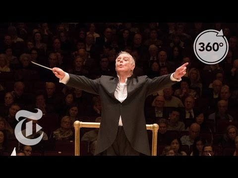 The Conductor's View at Carnegie Hall | The Daily 360 | The New York Times