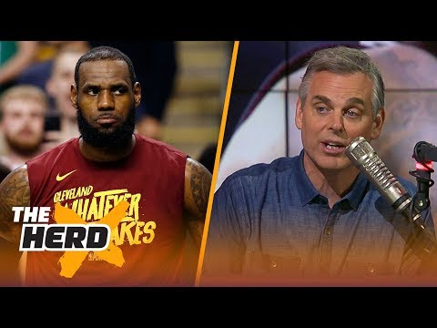 Colin Cowherd reacts to LeBron's Cavaliers losing Game 2 to the Celtics  NBA  THE HERD