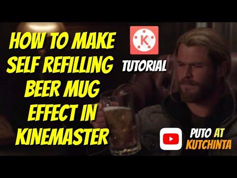 KINEMASTER: Magical Beer Mug Tutorial thumbnail