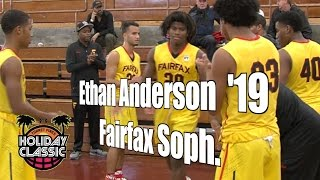 Ethan Anderson '19, Fairfax Sophomore Year, 2016 UA Holiday Classic