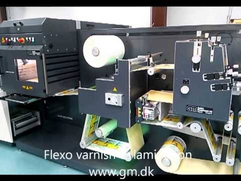 Laser die cutter for self adhesive labels printed on HP INDIGO press