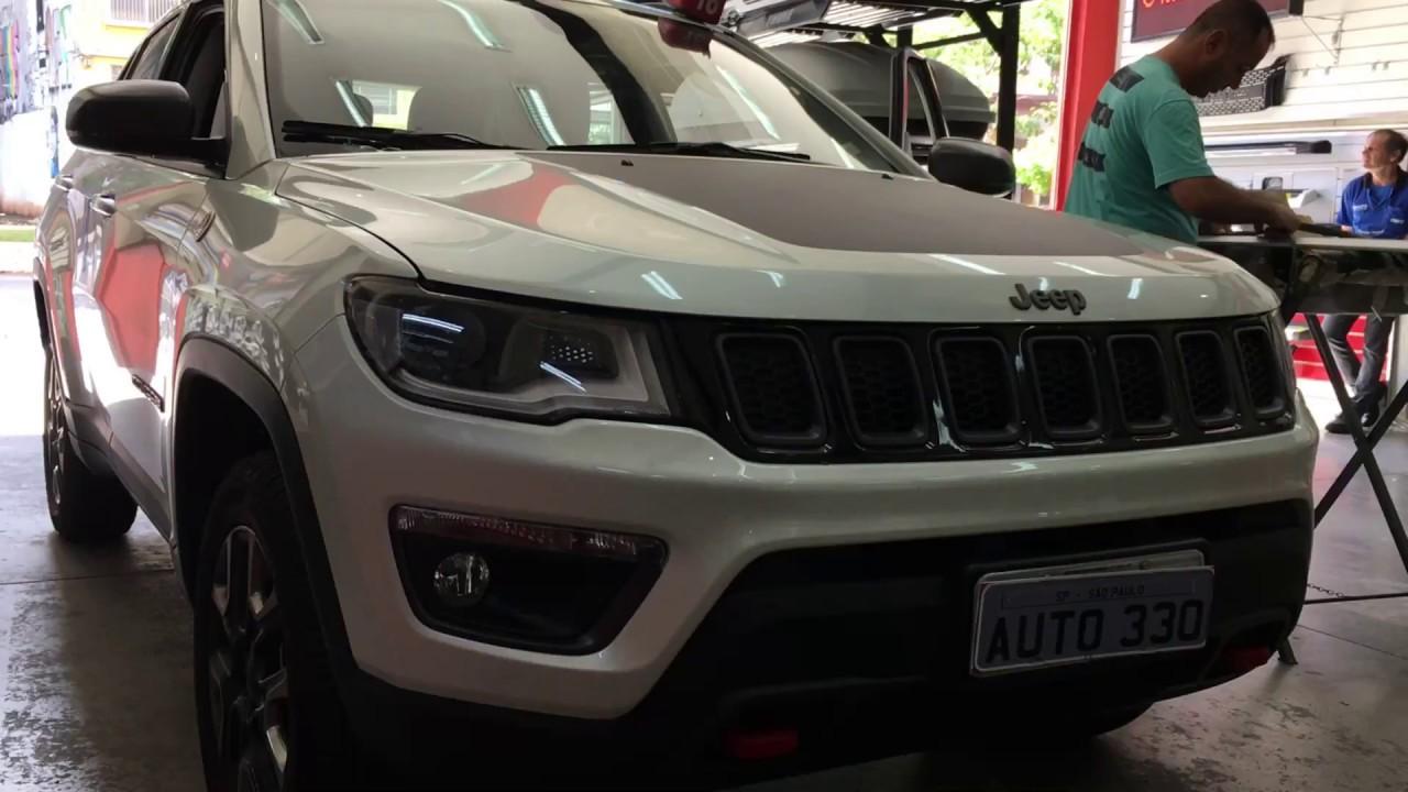 Jeep Compass 2017   Thule   Rack De Teto   Rack Thule WingBar   Auto330  Acessórios