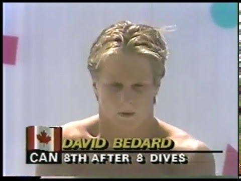 Olympics - 1984 Los Angeles - Diving - Mens Platform Finals - 9th Dive Round  imasportsphile
