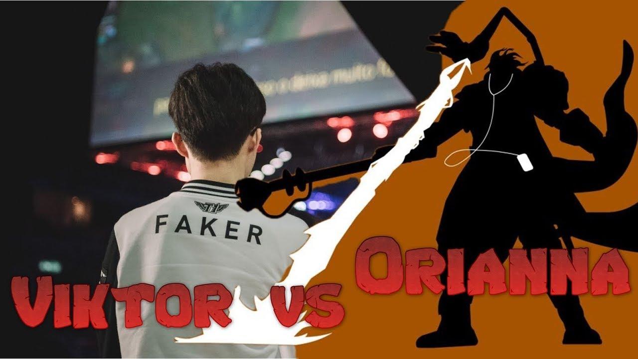 Faker - Viktor vs Orianna Mid - LoL Season 9 KR Ranked | League Of Legends