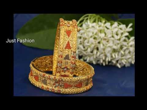 latest-designer-gold-bangles-collection-3