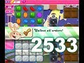 Candy Crush Saga Level 2533 (Have Bugs, 1 Lucky Candy Booster Used)
