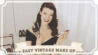 This is a warm, pinkish vintage make up look that I wear daily. Hop...