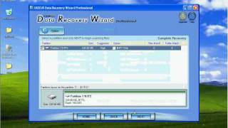 Recover files from RAW partition