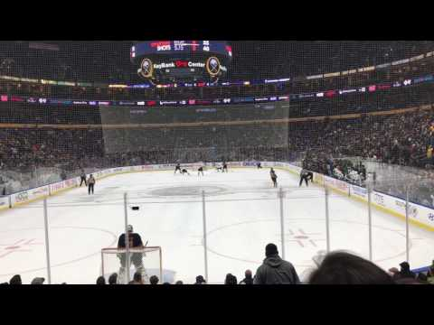Evander Kane Overtime Goal - San Jose Sharks vs Buffalo Sabres - 2/7/17 - Key Bank Center