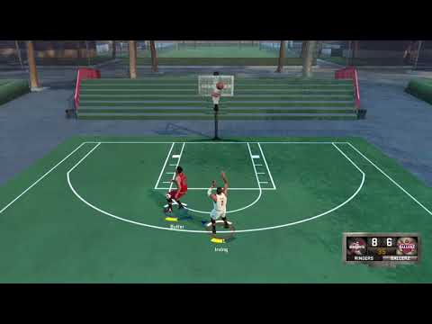 NBA2K 16  Blacktop Jimmy Butler VS Kyrie Irving