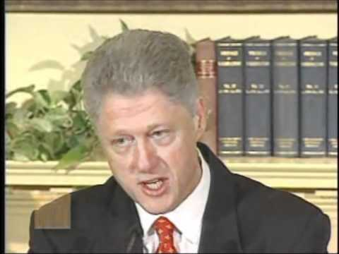 """Bill Clinton--""""I did not have sexual relations with that woman"""""""