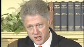 "Bill Clinton--""I did not have sexual relations with that woman"""