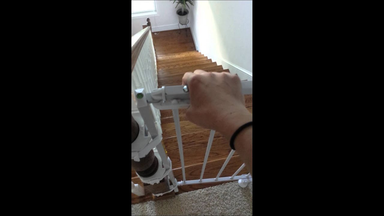 Regalo Extra Tall Baby Gate Review Youtube