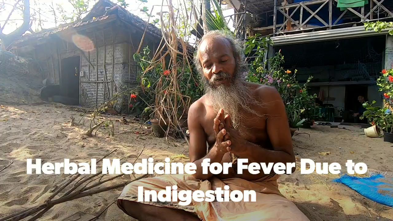 Herbal Medicine for Fever and Cough due to Indigestion. In Malayalam #Herbalmedicine