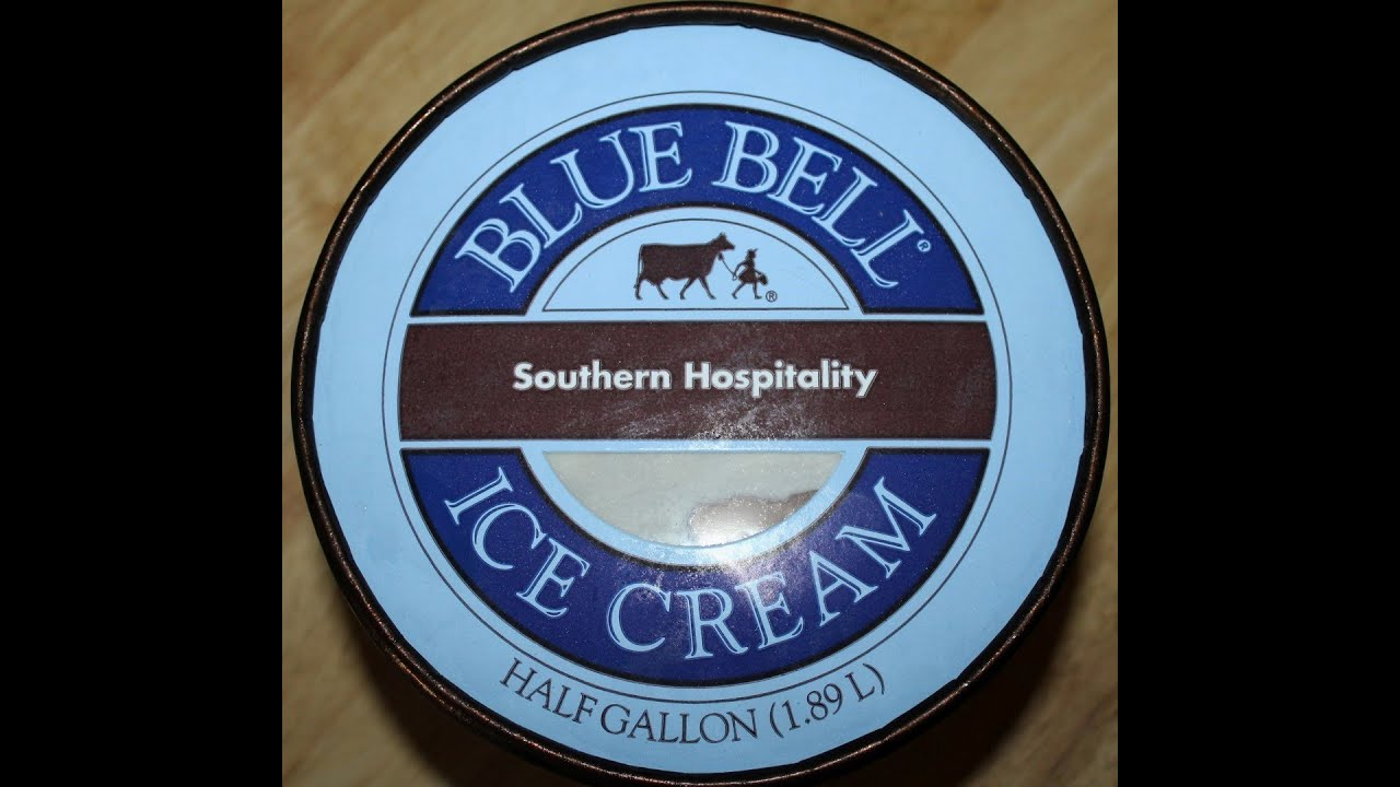 Southern Hospitality: Blue Bell: Southern Hospitality Ice Cream Review
